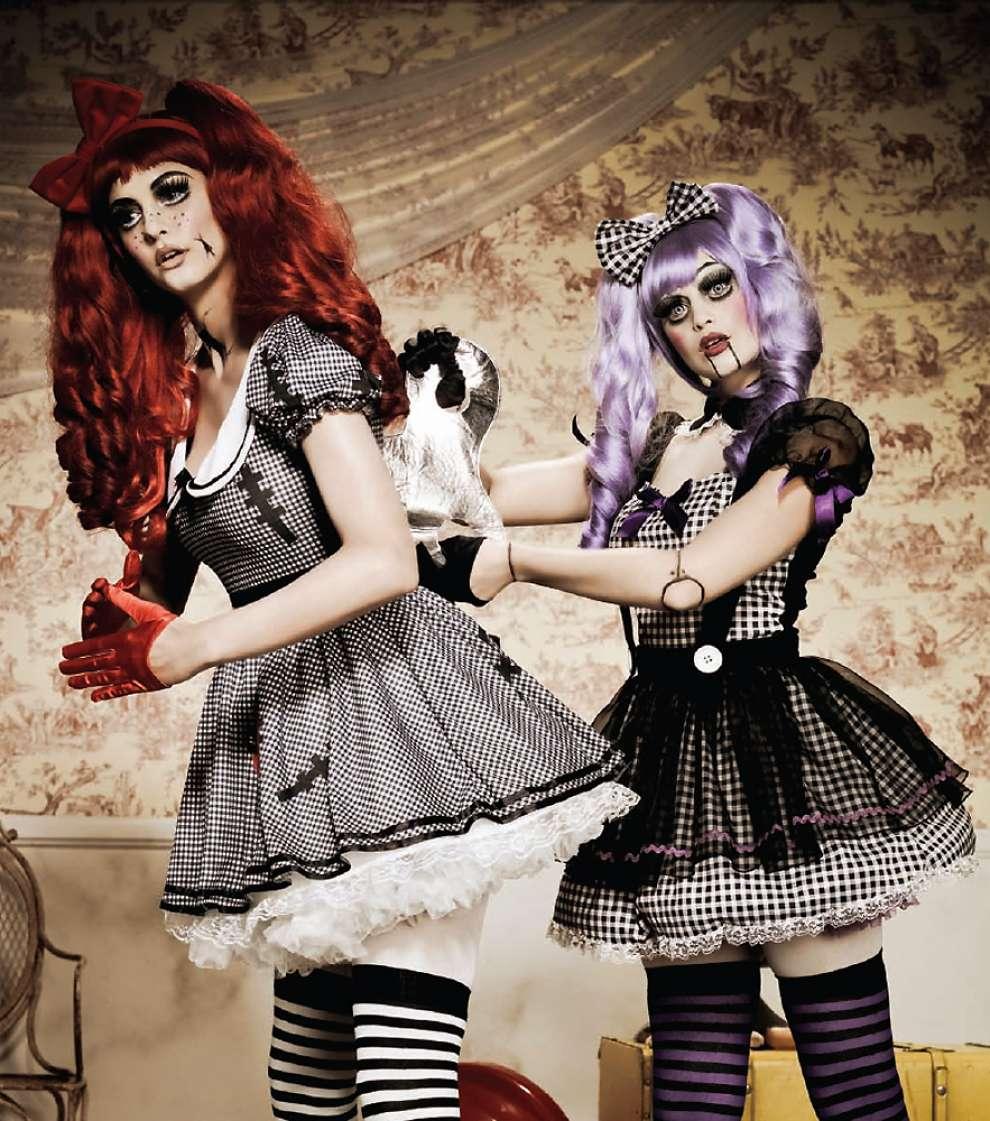 Лучшие костюмы на Хэллоуин. Мёртвая кукла.
