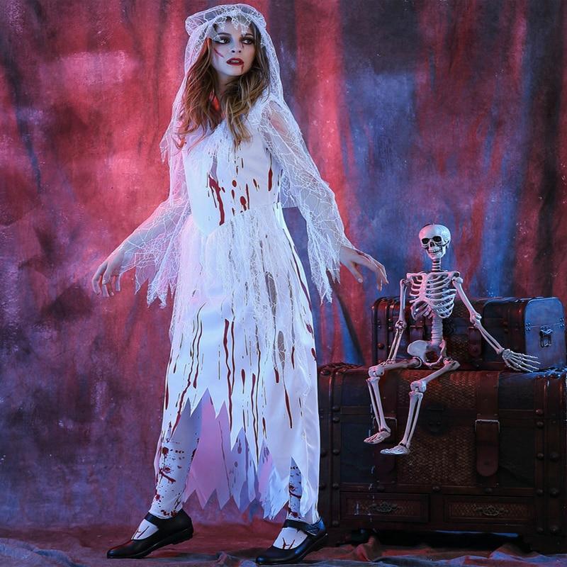 Лучшие костюмы на Хэллоуин. Костюм невеста.