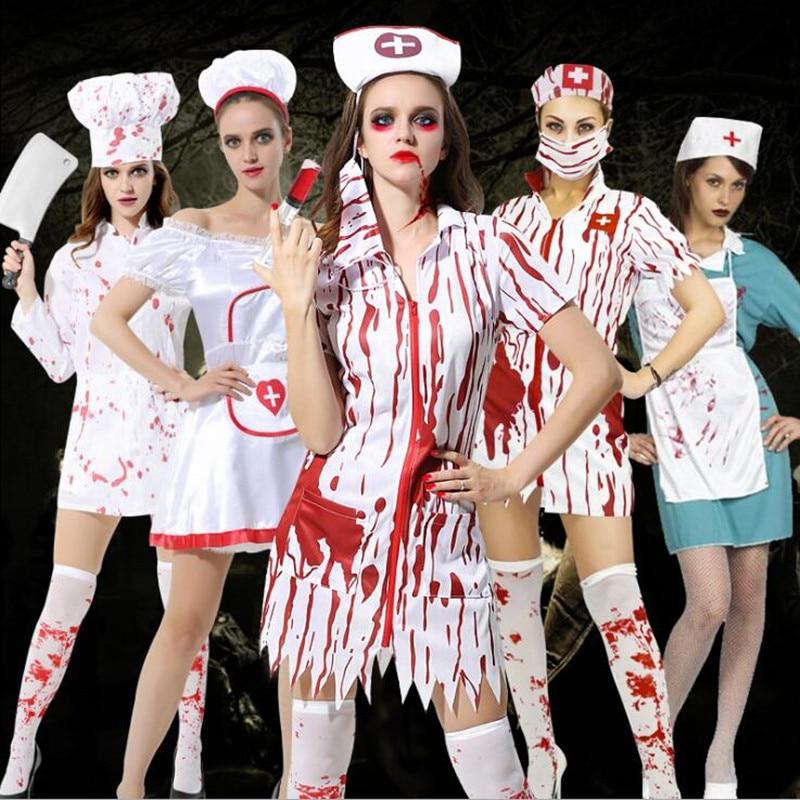 Лучшие костюмы на Хэллоуин. Костюм медсестра.