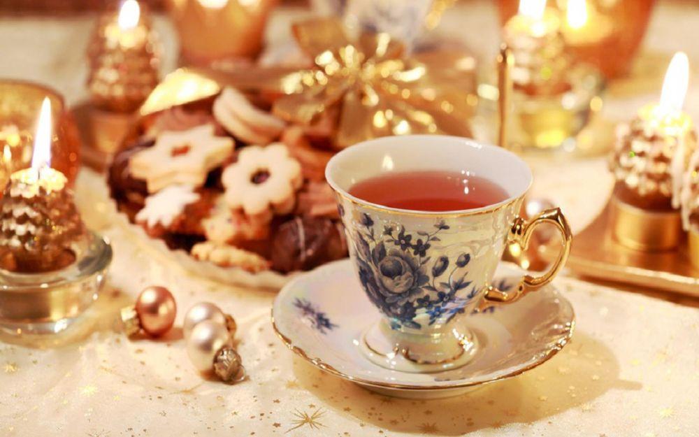 Чай, кофе, булочки для души